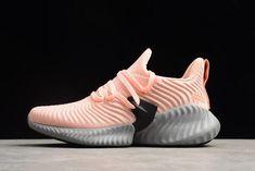 273abd160 adidas AlphaBounce Instinct Clear Orange Chalk Coral-Hi Res Aqua Women s  Running Shoes CG5591