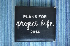 Project Life | Plans for 2014