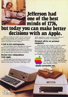Apple Computer Ad.