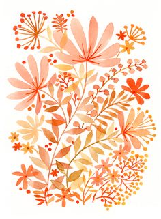 Vikki Chu: Watercolor Flowers