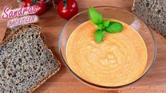 Paprika-Brotaufstrich - Rezept von Sandras Backideen Cantaloupe, Dairy, Pudding, Fruit, Chili, Desserts, Food, Youtube, Cream Cheese Recipes