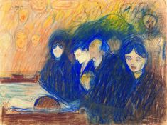 Image result for The Angel of Death (Edvard Munch - )