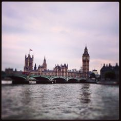 The Palace of Westminster from the South Bank