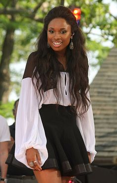 Jennifer Hudson in Givency, so adorable