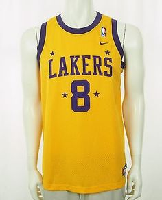 1aaaa05a1 ... Nike Team Kobe Bryant Los Angeles Lakers Sewn Jersey Youth XL ...
