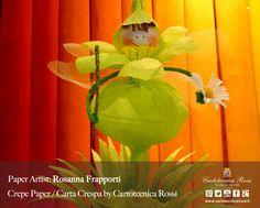 Paper Artist: Rosanna Frapporti - Crepe Paper / Carta Crespa / Papier Crépon / Papel Crepé: Cartotecnica Rossi