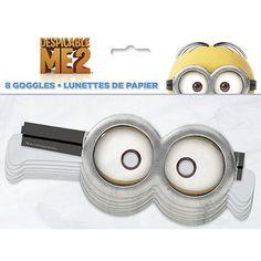 Despicable Me Paper Goggles [8 Per Pack]