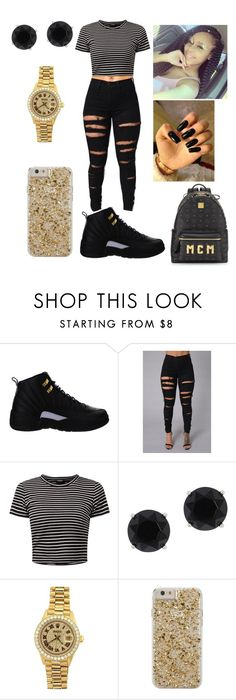 """Untitled #426"" by kate-lmfao ❤ liked on Polyvore featuring NIKE, Anne Klein, Rolex, Case-Mate and MCM"