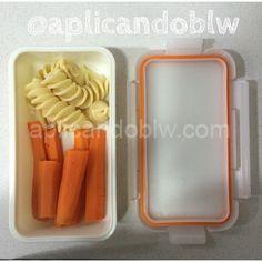 Para llevar: pasta + zanahoria al vapor Pasta, Baby Led Weaning, Bb, Food, Carrot Sticks, Healthy Recipes, Hipster Stuff, Essen, Noodles