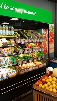 Mural de frutas y verduras Libertad Petit.