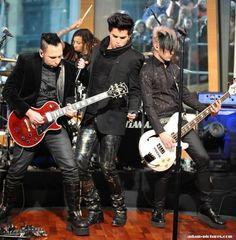 Adam and band 2009