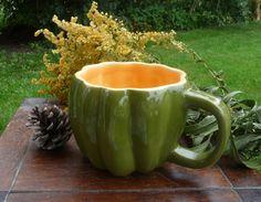 Acorn Squash Mug by vegetabowls on Etsy