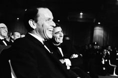 "Leonard McCombe—Time & Life Pictures/Getty Images -- On the night before the inauguration, many of the biggest names in show business came together for a gala produced by Kennedy's friend and supporter, Frank Sinatra, and Kennedy's brother-in-law, Peter Lawford, January 19, 1961. Sinatra called the opportunity ""the most exciting assignment of my life."""