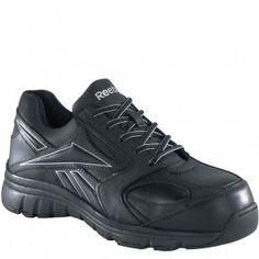 RB449 Reebok Women's Classic Performance Safety Shoes - Black www.bootbay.com