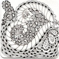 by Michell Beauch, Certified Zentangle Teacher in Australia