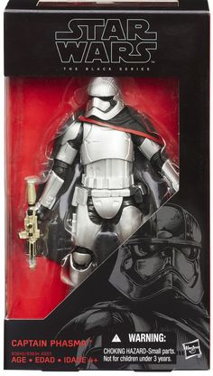 Star Wars the Black Series 6 Inch Captain Phasma The Black Series action figures from The Force Awakens! It's your chance to get your favorite characters as an exquisitely detailed 6-inch tall action