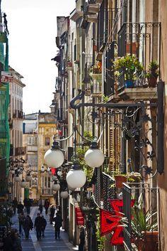 Beautiful streets, Tarragona, Catalonia