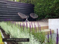 De Vallei tuin is een tuin met een moderne uitstraling en een zeer duurzame gedachte. Al het regenwater wordt opgevangen in de Sedumvallei die tevens voor veel sierwaarde zorgt in de tuin.   #border #terras #houten vlonder #relaxen #tuininspiratie #siergrassen #lavendel #tuinverlichting #tuinkeurhovenier Crochet Top Outfit, Amigurumi Patterns, Pattern Making, Garden Inspiration, Home Interior Design, Garden Design, Pergola, Exterior, Outdoor Structures