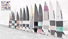 Surfboard quiver