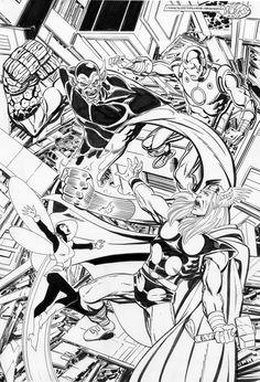 Avengers vs Super Skrull