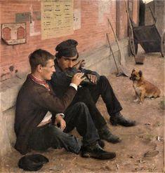 Ποτό ή δουλειά τη δευτέρα (1884) Μουσείο Καλών Τεχνών στην πόλη Νανσύ της Γαλλίας