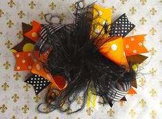 Over The Top Baby Girl Hair Bow Headband by NordeensBabyCouture, $8.50