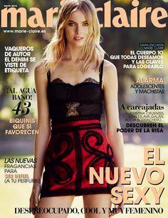 Revista #MARIECLAIRE, #mayo 2015. En nuevo #sexy: despreocupado, #cool y muy #femenino. Las nuevas #fragancias para ser infiel (a tu #perfume) Descubre el poder de la risa: #CristinaCifuentes, #AliciaBorrachero, JuanEslavaGalán...