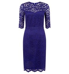 Buy Dark Violet Hobbs Albany Dress from our Women's Dresses Offers range at John Lewis & Partners. Occasion Wear Dresses, Day Dresses, Dresses For Sale, Summer Dresses, Formal Dresses, Hobbs London, Scalloped Lace, Stretch Lace, Dress Up