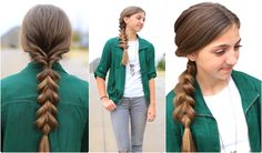Triple-Flip Combo | Faux Braid Hairstyles