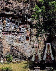 #Exploresouthsulawesi Photo today by @ballalompoa taken at Kuburan Batu Lemo-Lemo,Kab Tana Toraja,South Sulawesi. #JurnalOfCelebes #JourneysOfCelebes #EdelweisIndonesia #ExploreIndonesia