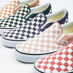 Classic Slip-On (Checkerboard) - $50 Each