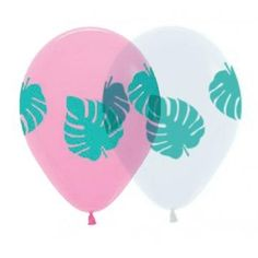 Ruby Rabbit Partyware - Palm Leaf 30cm Balloons (3 pack)