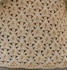 BeadAnnex Russian Knitting Pattern with interlaced triangles Unique Crochet Patterns 20 Unique Diy C Knitting Stiches, Knitting Charts, Lace Knitting, Popular Crochet, Unique Crochet, Knit Or Crochet, Crochet Crafts, Crochet Stitches Patterns, Knitting Patterns