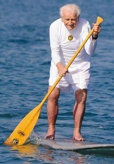 One of the fathers of SUP. 91 years old. Never too old for Stand UP. 2 Stand Up Guys Paddle Board Lessons & Sales 1701 Tamarack Ave Carlsbad, Ca 92008 (347)489-3926