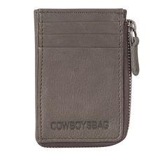 Cowboysbag Wallet Perpignan 1277, Herren Portemonnaie, Geldbörse aus Leder, Grey/Grau, 10,5x7x1 cm (B x H x T) Leder Geldbörsen