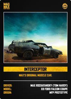Mad Max Fury Road V8 Interceptor definitely my favorite movie car