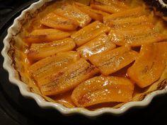 come-se: Banana-da-terra assada com suco de laranja