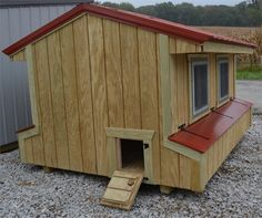 Wooden Chicken Coops Information and Specifications