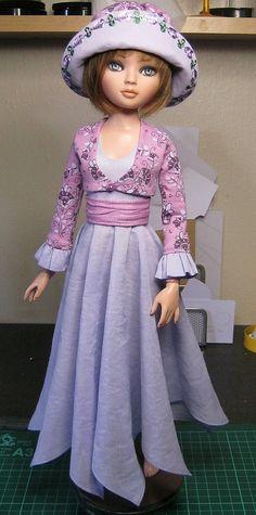 Ellowyne Wilde outfit   Dress, cummerbund, jacket:- My own p…   Flickr