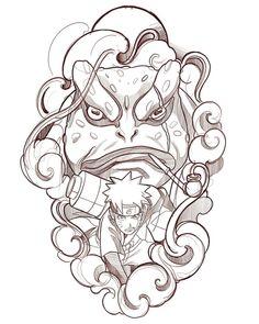 🐸 🍥 🐸 Gamabunta&Naruto /no available/no Disponible Anime Naruto, Naruto Shippuden Sasuke, Naruto Art, Itachi Uchiha, Naruto And Sasuke, Otaku Anime, Naruto Drawings, Naruto Sketch, Chinese Tattoo Designs