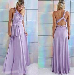 Hot 2016 summer sexy women maxi dress red bandage long dress sexy Multiway Bridesmaids Convertible Dress robe longue femme (8)