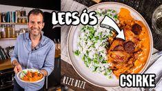 LECSÓS csirke, ahogy Zé készíti 🍅🌶👌 Bologna, Curry, Chicken, Ethnic Recipes, Kitchen, Street, Food, Youtube, Curries