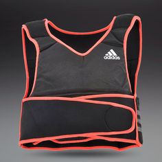 adidas Weighted Vest - Short - Black/Infrared ------------------------------------------------------ This product will increase my upper body strength and balance, which will ,hopefully, make me a more complete football player. #MOSTWANTED #PRO-DIRECTGIVEAWAY  ⚽️ @Christina Keiser-Direct Soccer