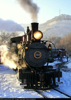 D 346 in Colorado...around the bend. #SomethingAboutTrains