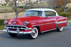 Available* at Palm Beach 2019 - Lot #373.1 1954 CHEVROLET BEL AIR Chevy Classic, Best Classic Cars, Classic Trucks, 1954 Chevy Bel Air, Chevrolet Bel Air, Vintage Cars, Antique Cars, Vintage Auto, General Motors Cars