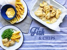 Fish and chips: ryba, která plave v těstíčku Fish And Chips, Treats, Chicken, Ethnic Recipes, Sweet Like Candy, Goodies, Sweets, Snacks, Cubs