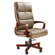 Product Code : DS 001 Descripition : High Back Chair, Wooden Arm,Wooden Base, Gas Lift, PU Leatherite Tapestry Mechanism : Torsion Bar destinyseatings.com