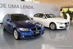 The new 3 series with the previous one. #1