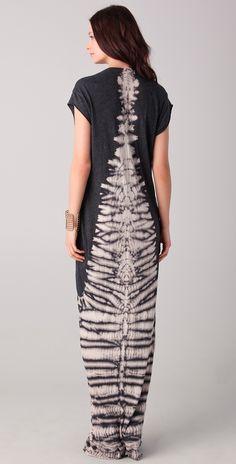 Raquel Allegra Tie Dye Caftan Dress | SHOPBOP