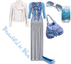 """""""Beautiful in Blue"""" by sarah-witmer-maerz on Polyvore"""